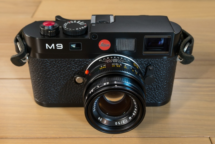 Leica M9 - 50mm Summicron Type IV - Luigi Strap