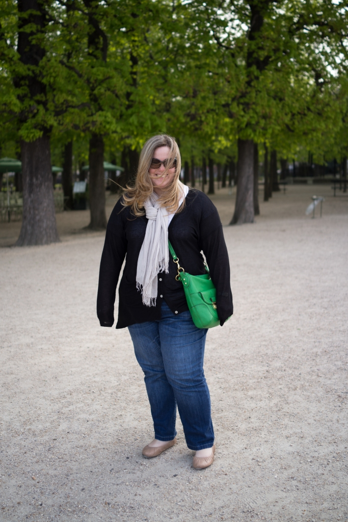 My two favorite things, Laura and the Jardin du Luxembourg