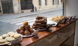Brownies at Bagels and Brownies