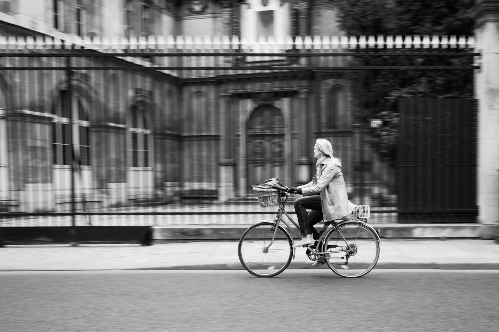 Riding past the park - Leica M9 image process with Silver Efex Pro 2.