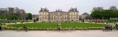 Just your local city park in Paris.