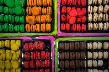 I can't say no to a (or many) macaroons.