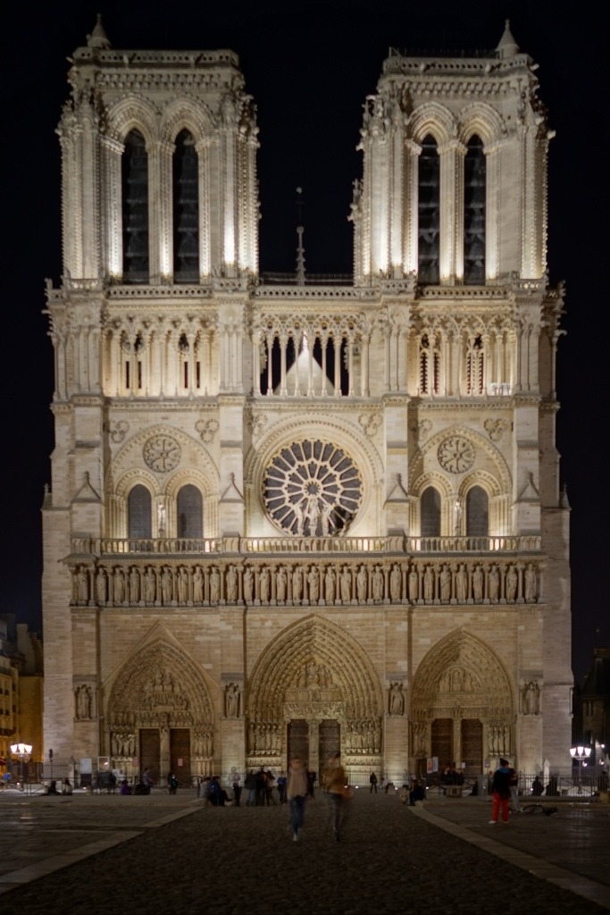 Notre Dame looking rather majestic.