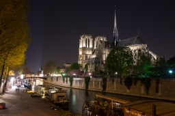 Notre Dame from the left bank.