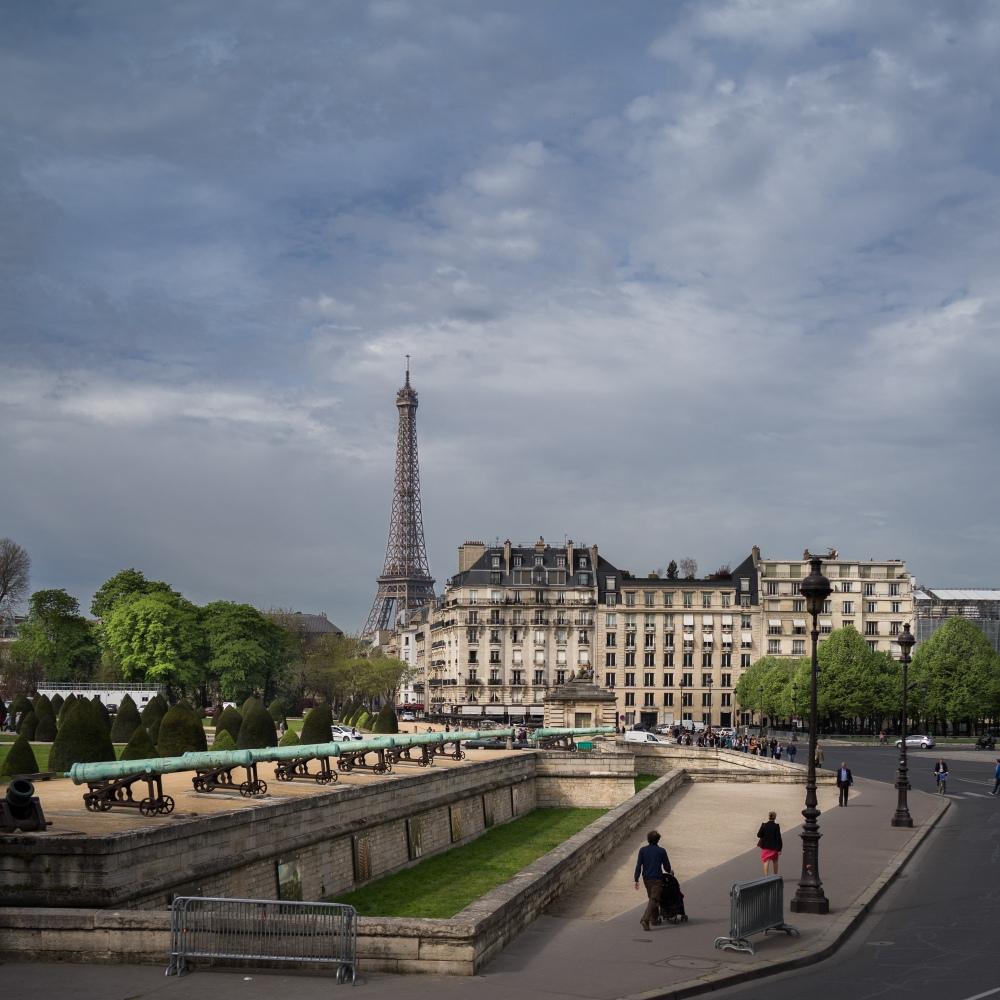 Here's  Paris.