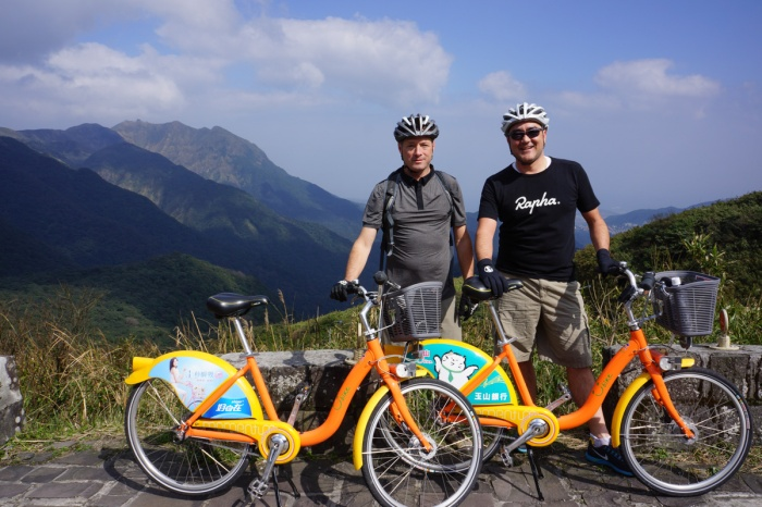 This was one of the more foolish, but fun rides I've ever done. We decided to rent some city bikes for the day and tackle a 3000' ride up the mountains. These bikes were not meant for this kind or riding. They are ridiculously heavy, are not geared correctly and have lame brakes...we loved it.