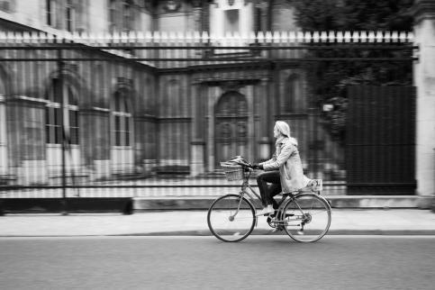 Commuter. Paris, France.