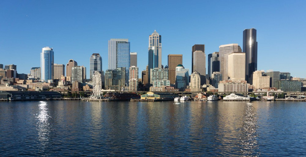 And finally, Seattle as you approach from an inbound ferry.