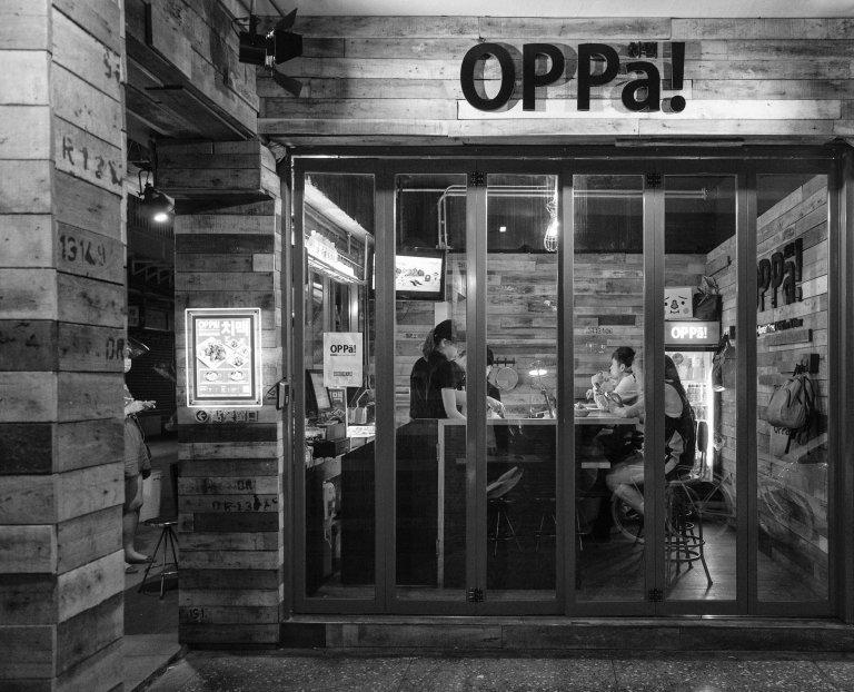 OPPa! Very, very good Korean fried chicken.