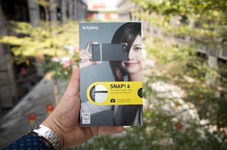 Bitplay SNAP! 6 iPhone case with dedicated shutter release. (Ricoh GR)