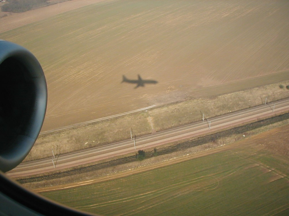 One of my favorites taken on approach to Charles de Gaulle (CDG), Paris, France.