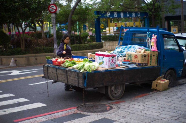 Portable produce. Leica M9 with Canon 50mm f/1.4 LTM @ 1.4
