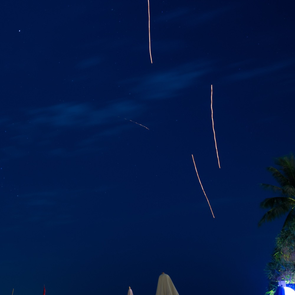 Another shooting star.