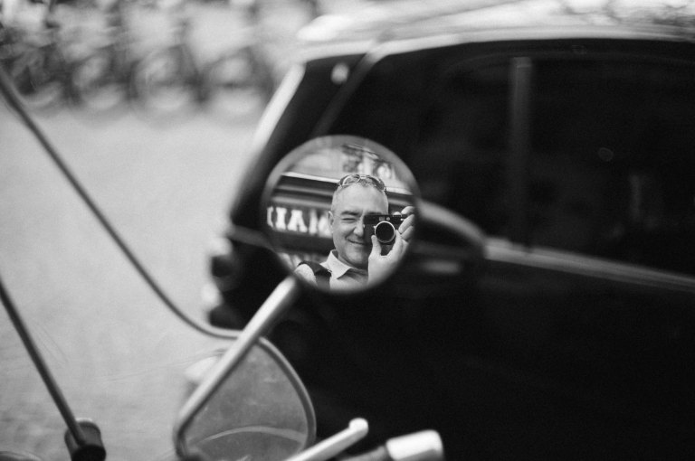 Vespa Mirror (Leica M9 with Canon 50mm f/1.4 LTM)