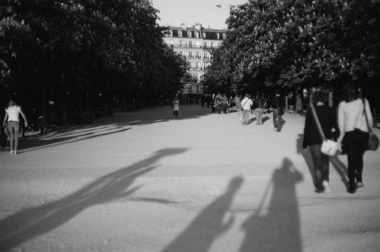 Long Shadows, Jardin du Luxembourg (Leica M9 with Canon 50mm f/1.4 LTM)