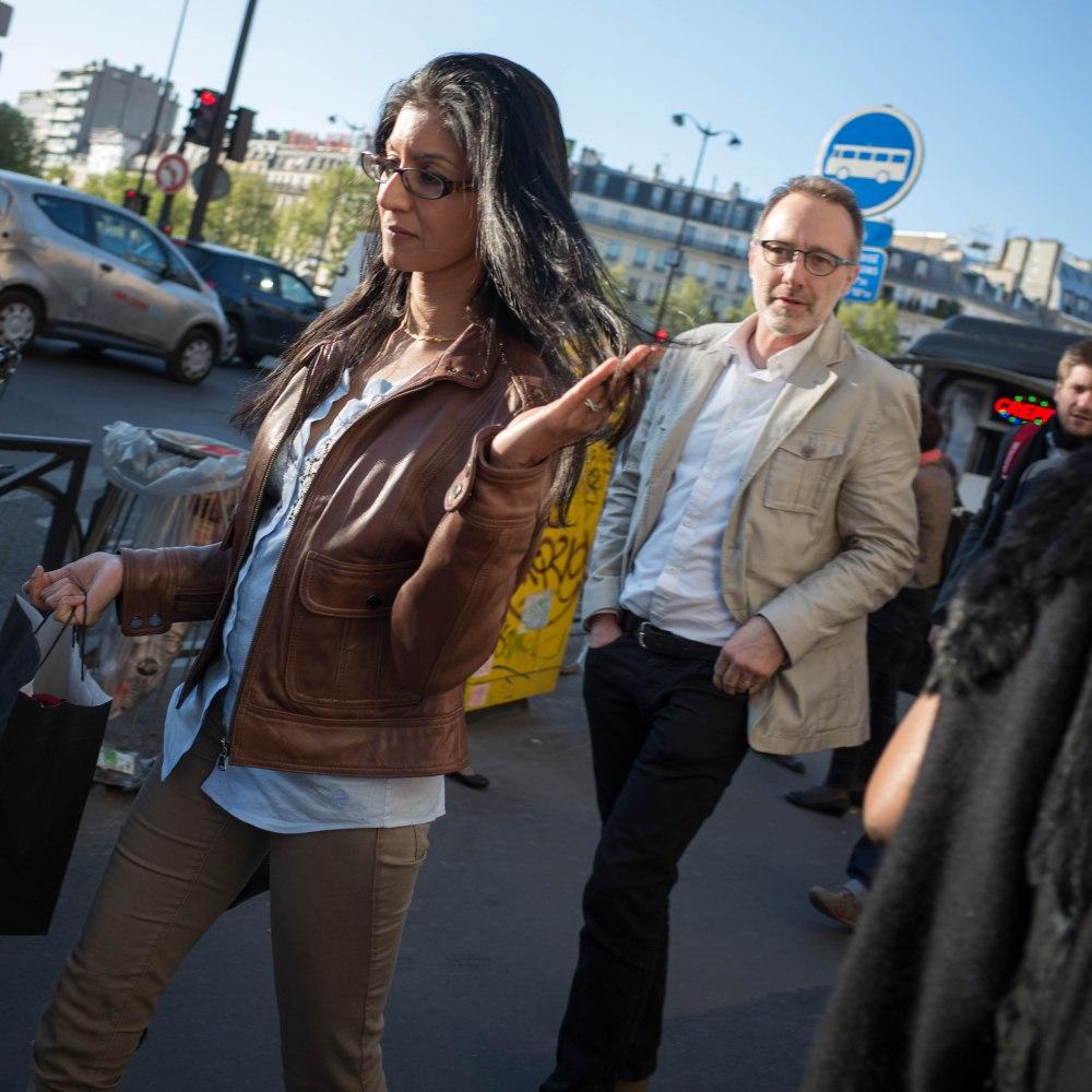 Busy on Blvd Montparnasse - Paris, France (Ricoh GR)