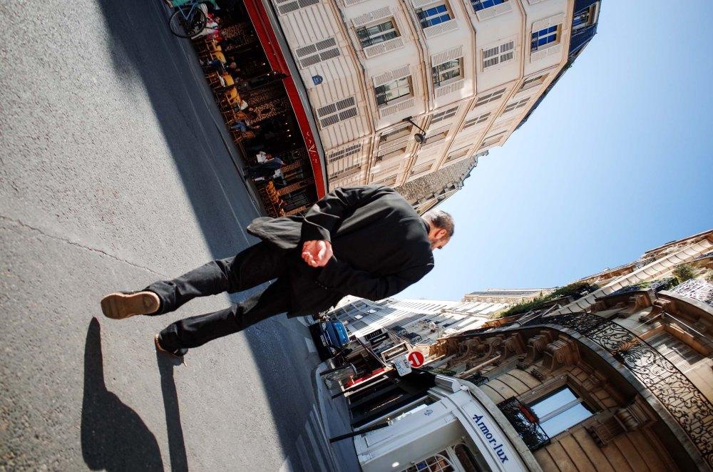 A Brisk Pace - Paris, France (Ricoh GR)
