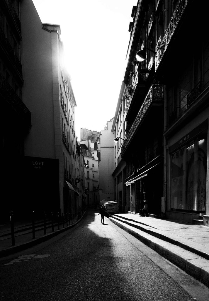 I enjoy the deep  shadows of this scene. Ricoh GR with 21mm wide angle lens adapter