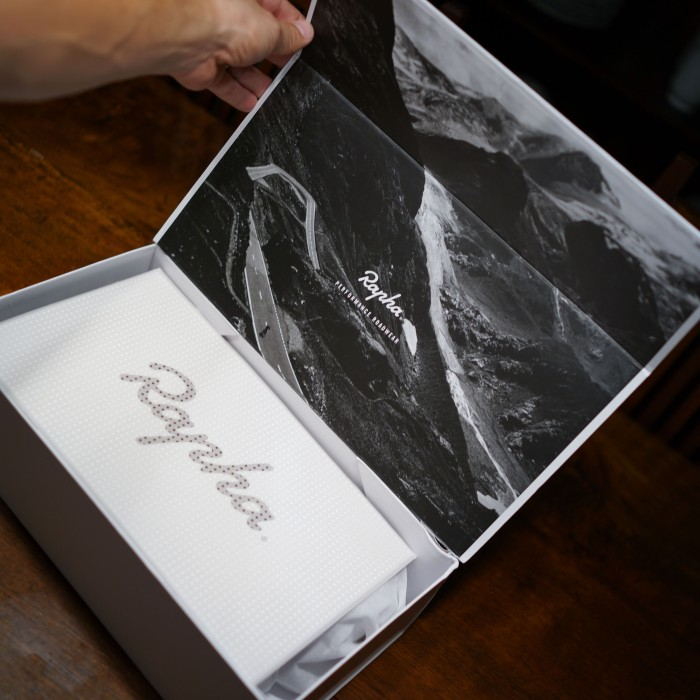 Rapha take pride in the presentation of their gear. (Sony RX1r)