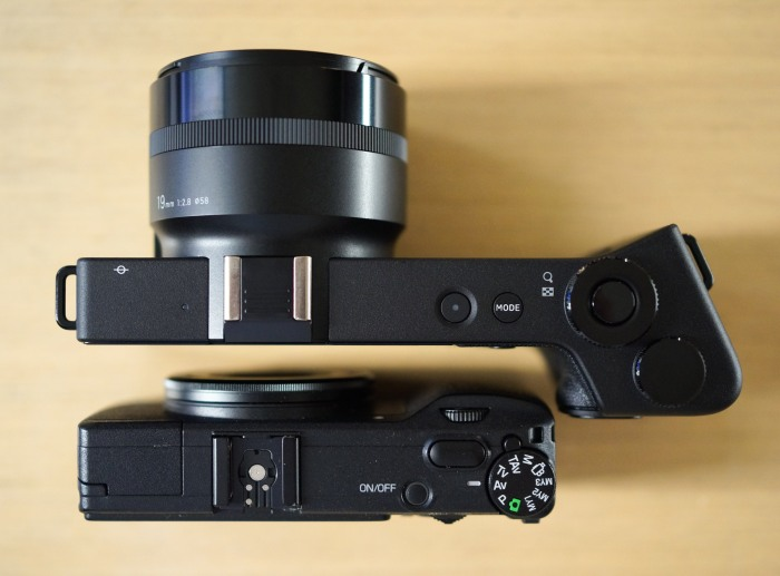 The Sigma DP1 Quattro and the Ricoh GR - two VERY different approaches to camera design
