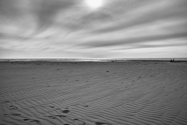 An overcast Oregon beach. (Sigma DP1 Quattro)