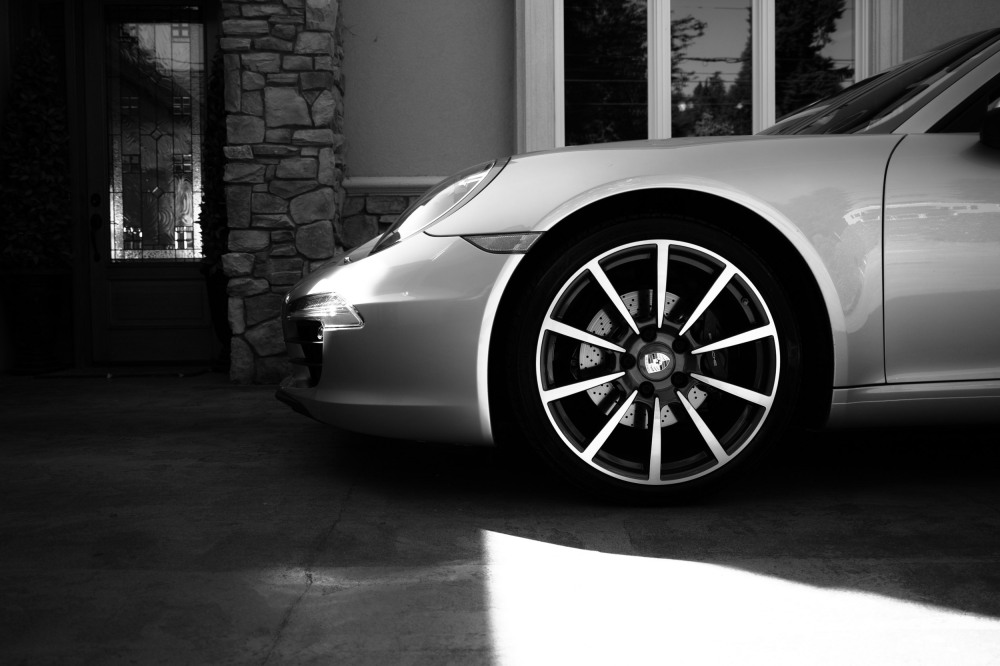 Porsche 911 Cabriolet, 997. (Sigma DP1 Quattro)