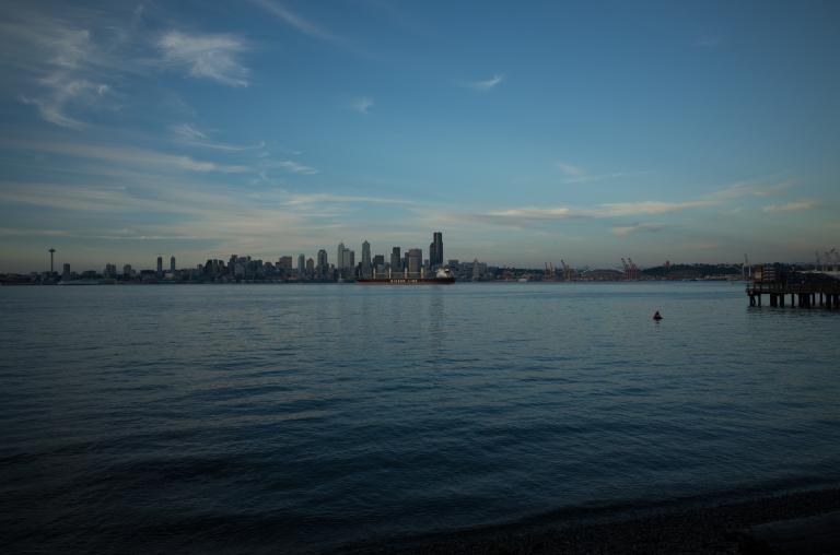 Seacrest Park, West Seattle. (Ricoh GR)