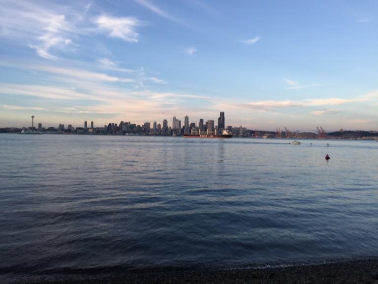 Seacrest Park, West Seattle. (iPhone 6)