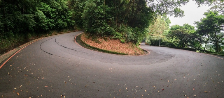 A switchback on one of my routes