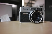 The Canon Canonet QL17 G-III. Old Japanese technology shot with new Japanese technology. (Sigma DP1 Quattro - unedited - straight out of camera jpg)