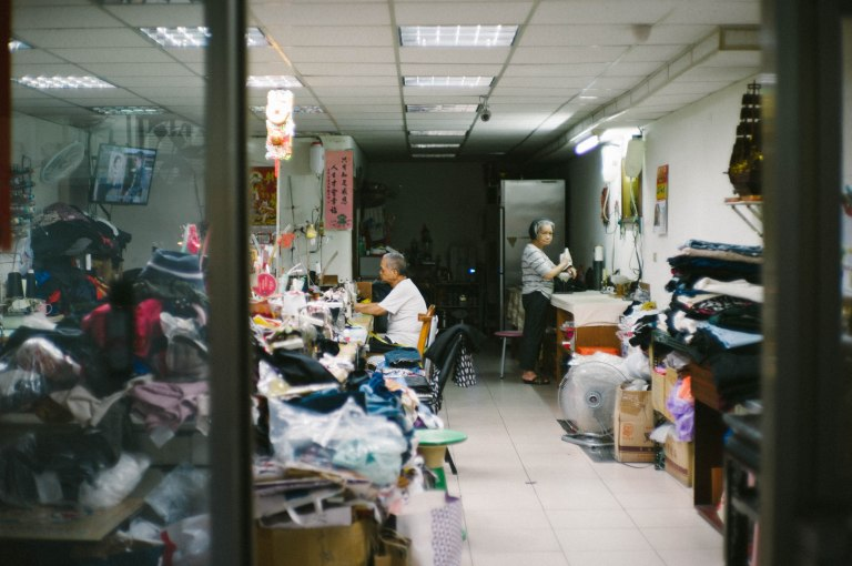 Late evening in the family shop. (Leica M9, Canon 50mm LTM, VSCO)