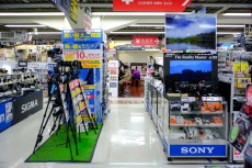 By contrast Bic Camera, next to Shinjuku Station West Exit, is roomy and bright.