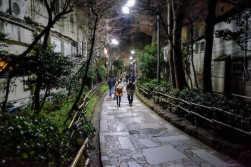 One of the walkways to/from Golden Gai.